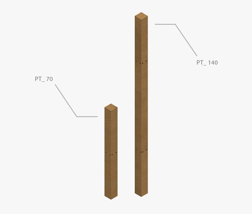 Solution OST éléments de maintien poteaux